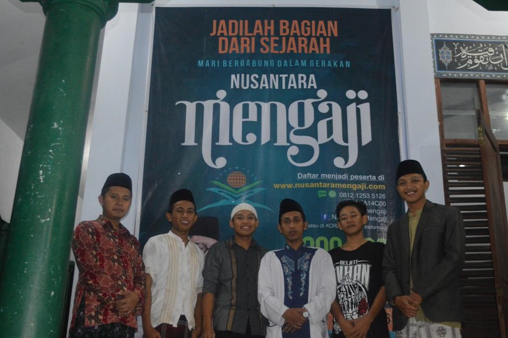 ayo mengaji. menjadi bagian dalam sejarah Nusantara Mengaji